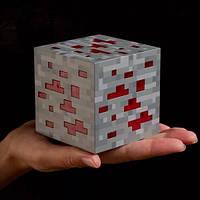 Led куб Ночник РЕД СТОУН minecraft майнкрафт