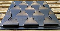 """Пластикова форма для виготовлення 3d панелей """"Ілюзія"""" 50*50 (форма для 3д панелей з абс пластику), фото 3"""