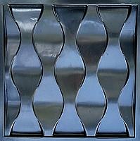 """Пластикова форма для виготовлення 3d панелей """"Ілюзія"""" 50*50 (форма для 3д панелей з абс пластику), фото 6"""