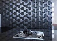 """Пластикова форма для виготовлення 3d панелей """"Ілюзія"""" 50*50 (форма для 3д панелей з абс пластику), фото 7"""