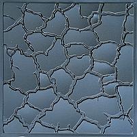 """Пластикова форма для виготовлення 3d панелей """"Кора"""" 50*50 (форма для 3д панелей з абс пластику), фото 2"""