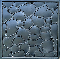 """Пластикова форма для виготовлення 3d панелей """"Кора"""" 50*50 (форма для 3д панелей з абс пластику), фото 6"""