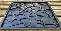 """Пластикова форма для виготовлення 3d панелей """"Кора"""" 50*50 (форма для 3д панелей з абс пластику), фото 8"""