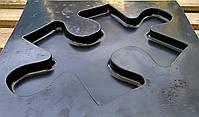 """Пластикова форма для виготовлення 3d панелей """"Пазл"""" 50*30 (форма для 3д панелей з абс пластику), фото 5"""