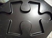 """Пластикова форма для виготовлення 3d панелей """"Пазл"""" 50*30 (форма для 3д панелей з абс пластику), фото 8"""