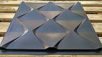 "Формы для 3d панелей ""Пирамидки"" 50*50 (форма для 3д панелей из абс пластика), фото 3"