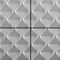 "Формы для 3d панелей ""Пирамидки"" 50*50 (форма для 3д панелей из абс пластика), фото 4"