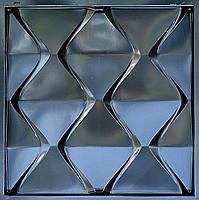 "Формы для 3d панелей ""Пирамидки"" 50*50 (форма для 3д панелей из абс пластика), фото 5"