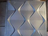 "Формы для 3d панелей ""Пирамидки"" 50*50 (форма для 3д панелей из абс пластика), фото 7"