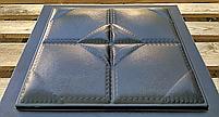 "Формы для 3d панелей ""Подушка"" 40*40 (форма для 3д панелей из абс пластика), фото 3"