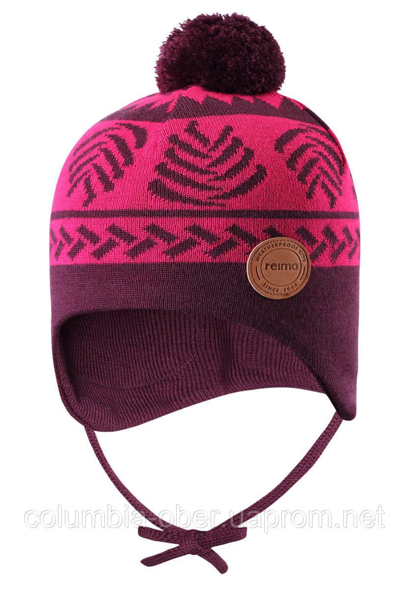Демисезонная шапка-бини для девочки Reima Luumu 518524-4961. Размеры 46 - 52.