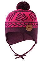 Демисезонная шапка-бини для девочки Reima Luumu 518524-4961. Размеры 46 - 52., фото 1