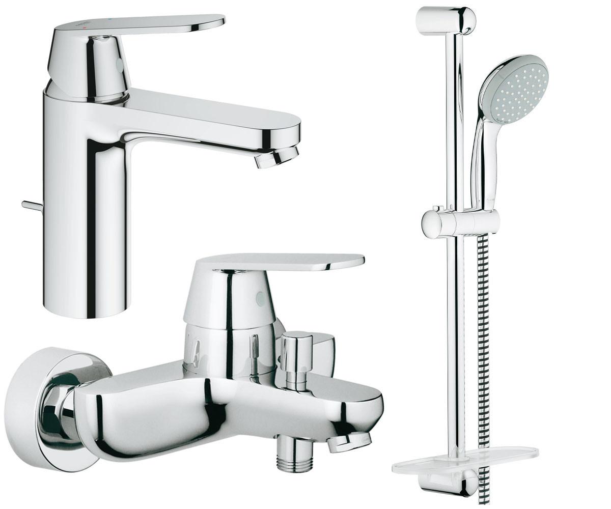 Набор смесителей для ванны 3 в 1 Grohe Eurosmart Cosmopolitan 126112M