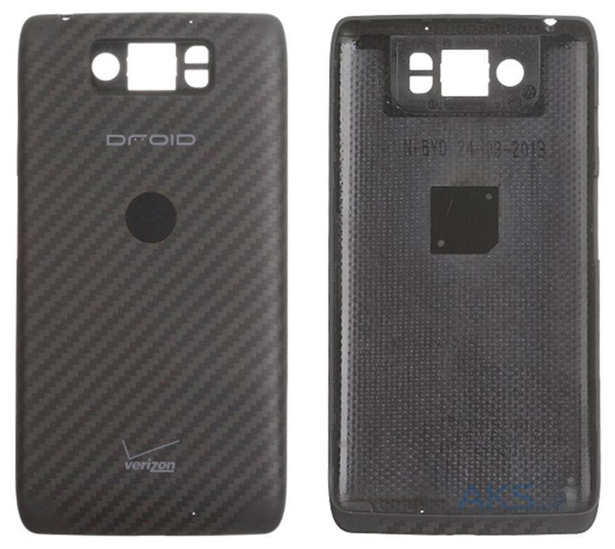 Задняя крышка Motorola XT1080 Droid Ultra, черная, Оригинал