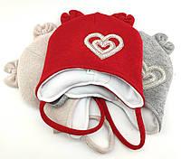Оптом шапка детская с 48 по 52 размер ушками ангора шапки головные уборы детские опт