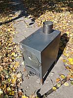 "Буржуйка ""Трёшка"", неокрашенная, сталь 3мм (дровяная печь)"