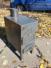 """Буржуйка """"Трёшка"""", неокрашенная, сталь 3мм (дровяная печь), фото 2"""