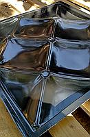 """Пластикова форма для виготовлення 3d панелей """"Ретро"""" 50*50 (форма для 3д панелей з абс пластику), фото 5"""