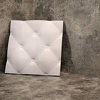 """Пластикова форма для виготовлення 3d панелей """"Ретро"""" 50*50 (форма для 3д панелей з абс пластику), фото 6"""