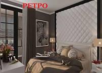 """Пластикова форма для виготовлення 3d панелей """"Ретро"""" 50*50 (форма для 3д панелей з абс пластику), фото 7"""