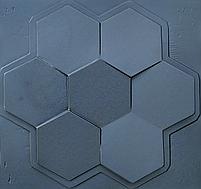 """Формы для 3d панелей """"Сота"""" 50*53 (форма для 3д панелей из абс пластика), фото 2"""