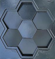 """Формы для 3d панелей """"Сота"""" 50*53 (форма для 3д панелей из абс пластика), фото 6"""