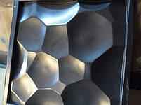 "Формы для 3d панелей ""Сфера"" 50*50 (форма для 3д панелей из абс пластика), фото 9"