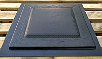 "Формы для 3d панелей ""Филенка"" 40*40 (форма для 3д панелей из абс пластика), фото 3"