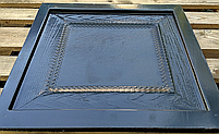 """Пластикова форма для 3d панелей """"Фільонка"""" 40*40 (форма для 3д панелей з абс пластику), фото 5"""