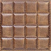 """Пластикова форма для виготовлення 3d панелей """"Шоколад"""" 40*40 (форма для 3д панелей з абс пластику)"""