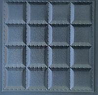 """Пластикова форма для виготовлення 3d панелей """"Шоколад"""" 40*40 (форма для 3д панелей з абс пластику), фото 2"""