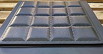 """Пластикова форма для виготовлення 3d панелей """"Шоколад"""" 40*40 (форма для 3д панелей з абс пластику), фото 3"""