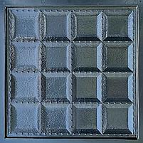 """Пластикова форма для виготовлення 3d панелей """"Шоколад"""" 40*40 (форма для 3д панелей з абс пластику), фото 4"""