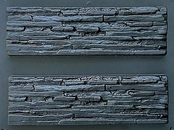 """Форма для декоративного каменю і плитки """"Венеція"""", АБС-пластик, 6 форм в комплекті"""