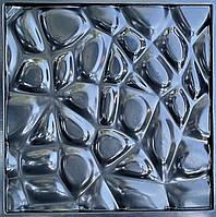 """Пластикова форма для виготовлення 3d панелей """"Павутина"""" 50*50 (форма для 3д панелей з абс пластику), фото 4"""