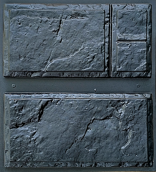 """Форма для декоративного каменю і плитки """"Фільонка"""" (6 плиток в комплекті)"""