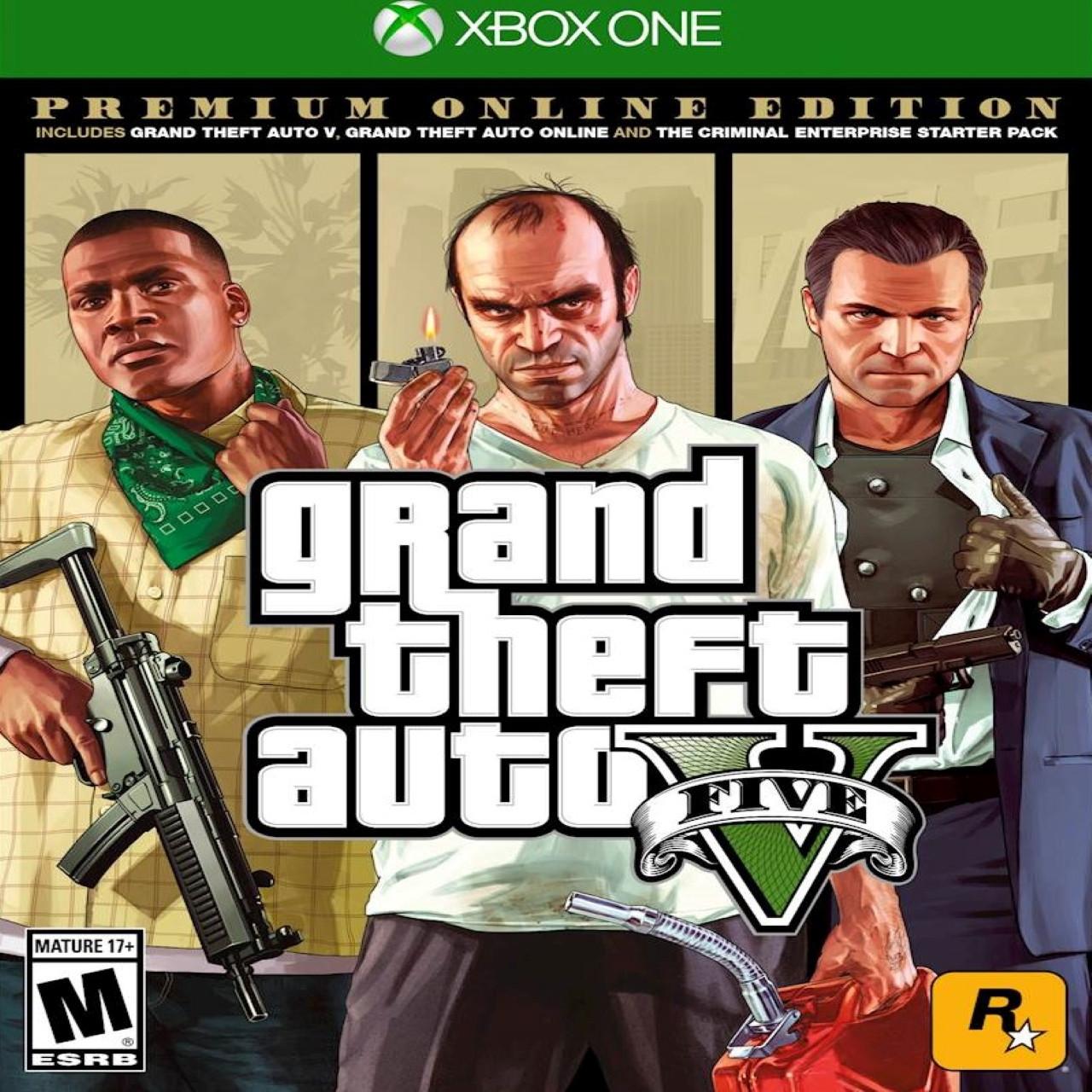 оригінальний Gta V Premium Online Edition Sub Xbox One New від відповідальної компанії Good Game