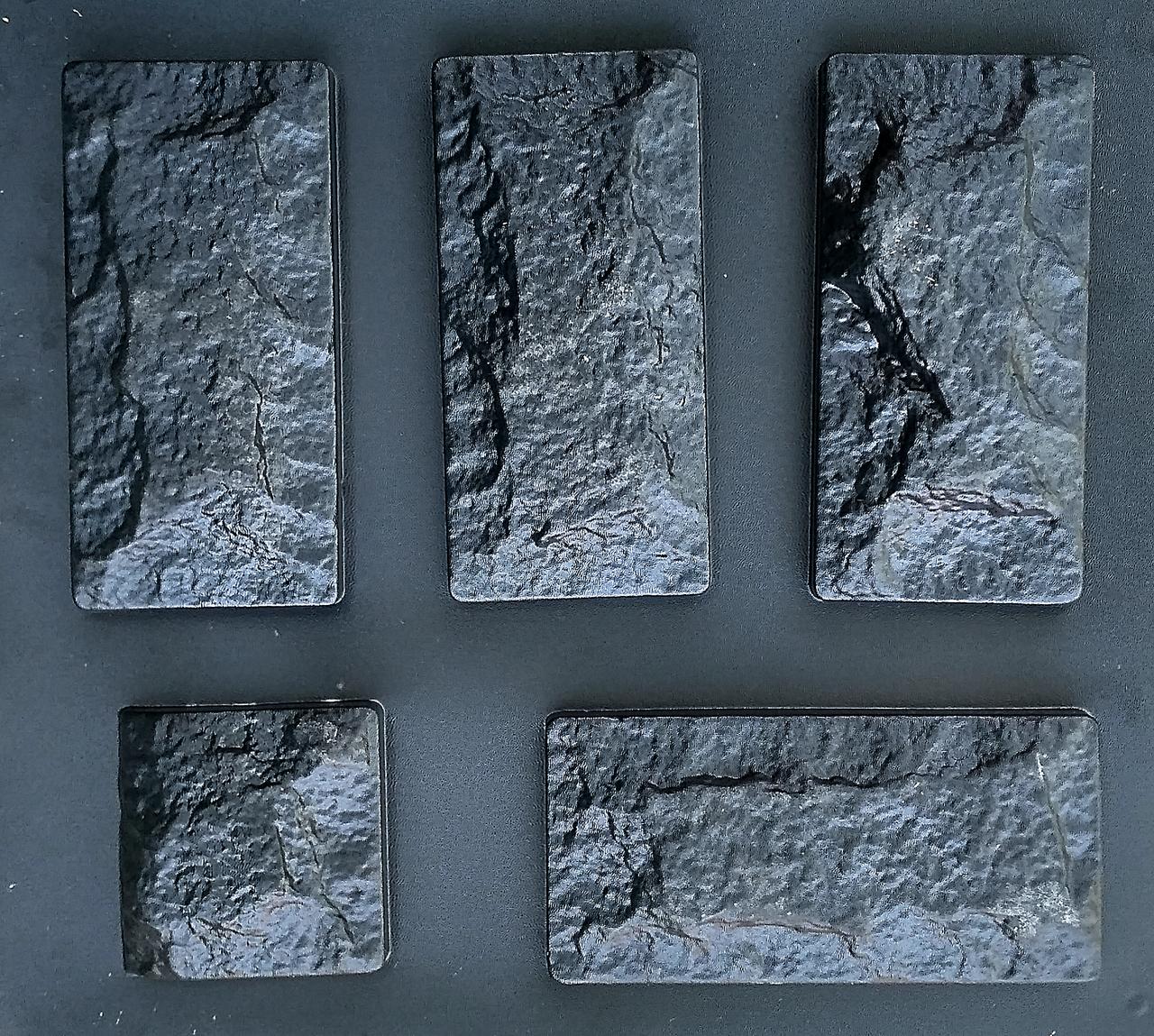 """Форма для декоративного каменю і плитки """"Цокольна"""" (13.5 форм в комплекті)"""
