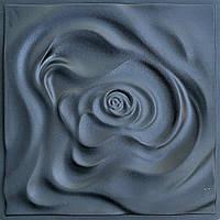 """Формы для 3d панелей """"Роза"""" 50*50 (форма для 3д панелей из абс пластика), фото 2"""