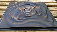 """Формы для 3d панелей """"Роза"""" 50*50 (форма для 3д панелей из абс пластика), фото 3"""