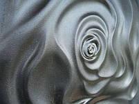 """Формы для 3d панелей """"Роза"""" 50*50 (форма для 3д панелей из абс пластика), фото 6"""