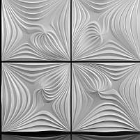 "Формы для 3d панелей ""Магия"" 50*50 (форма для 3д панелей из абс пластика), фото 3"