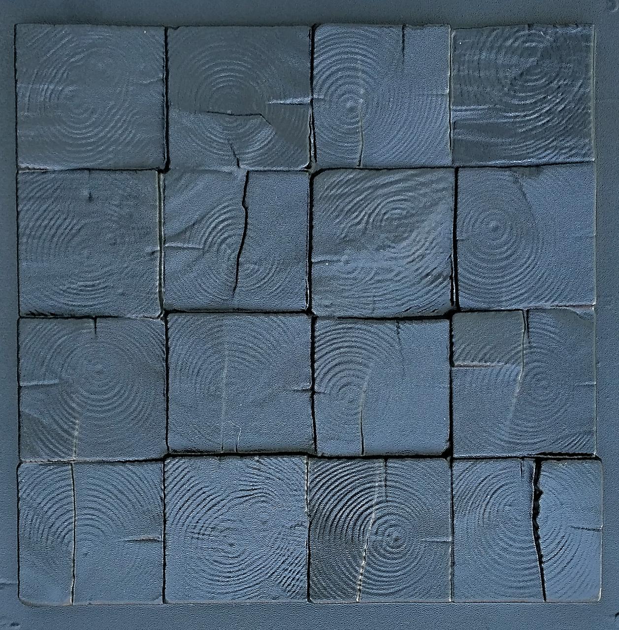 """Пластикова форма для виготовлення 3d панелей """"П'яний Карло"""" 40*40 (форма для 3д панелей з абс пластику)"""