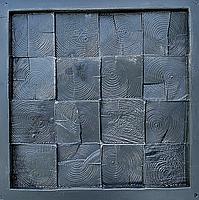 """Пластикова форма для виготовлення 3d панелей """"П'яний Карло"""" 40*40 (форма для 3д панелей з абс пластику), фото 3"""