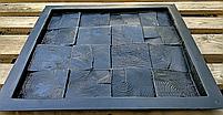 """Пластикова форма для виготовлення 3d панелей """"П'яний Карло"""" 40*40 (форма для 3д панелей з абс пластику), фото 4"""