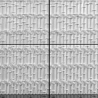 "Пластикова форма для 3d панелей ""Бамбук"" 50*40 (форма для 3д панелей з абс пластику), фото 3"