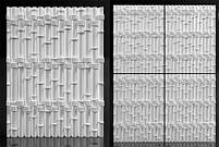"Пластикова форма для 3d панелей ""Бамбук"" 50*40 (форма для 3д панелей з абс пластику), фото 8"