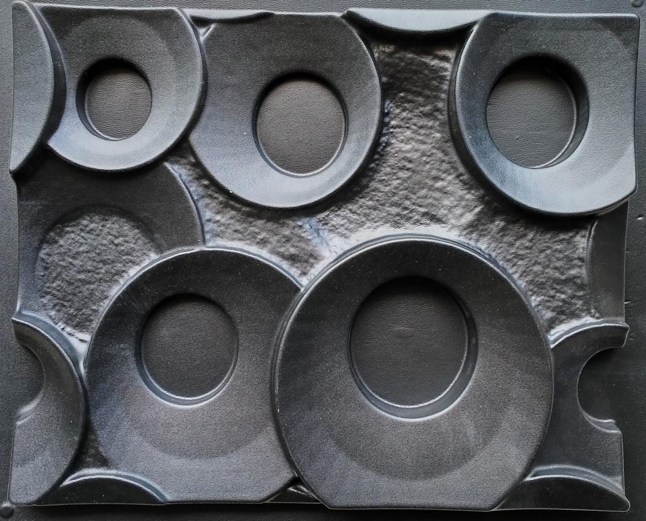 """Форма для гіпсових 3d блоків (перегородок) """"Кільця"""""""