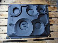 """Форма для гипсовых 3d блоков (перегородок) """"Кольца"""", фото 6"""