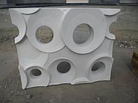 """Форма для гипсовых 3d блоков (перегородок) """"Кольца"""", фото 7"""